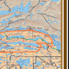 McKenzie A2 BWCA & Quetico Full Color Souvenir Map