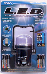 Dorcy LED Zoom Flashlight/Lantern