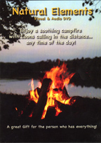 Natural Elements Video Fire with Loon Calls DVD