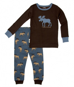 Hatley I Moose Be Dreaming Kid's PJ Set