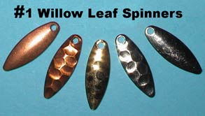 Willow Leaf Spinner Assortment
