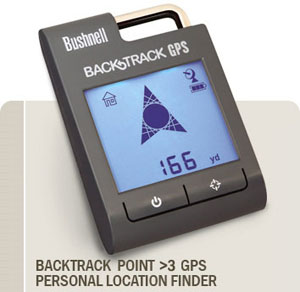 Bushnell Backtrack Point 3 GPS