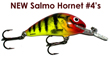 Salmo Hornet #4 Floating - New colors
